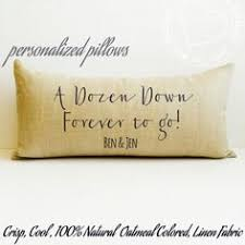 12 year anniversary gift for couples pillow couples gift housewarming pillow personalized