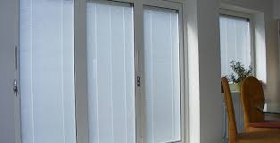 Patio Door Internal Blinds Bi Folding Doors Ultraslim Aluminium Frameless Glass Doors
