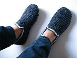 bedroom slippers for men felt soles crochet slippers house slippers men loafers