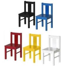 ikea child u0027s kritter wooden chair cat dog detail kids ebay