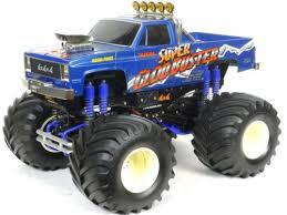 radio control tamiya monster truck 4x4x4 super clod buster