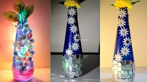 Flower Decoration At Home Diy How To Make Flower Vase At Home Ways To Decorate A Vase