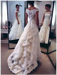 best 25 ivory lace wedding dress ideas on wedding