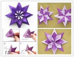 wonderful diy folded origami paper paper origami