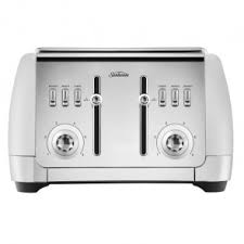 kitchen collections appliances small sunbeam toaster 4 slice collection whit appliance