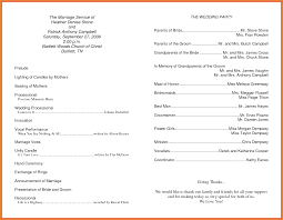 church wedding programs wedding sledding program wording for thank you programs
