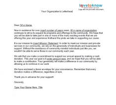 Fundraising Letter Sles For Donations Sles Of Non Profit Fundraising Letters Lovetoknow