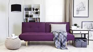 canap convertible prune canap convertible aubergine cheap angle droit dodge tissus with