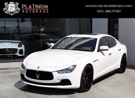 used maserati granturismo for sale 2015 maserati ghibli s q4 stock 5995 for sale near redondo beach