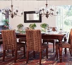 Pottery Barn Dining Room Chairs 23 Best My Future Seagrass Dining Set Images On Pinterest Dining