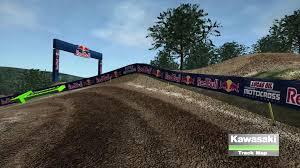 ama motocross game lucas oil pro motocross 2016 spring creek motocross track map