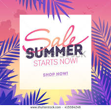 summer sale summer sale template poster vector illustration stock vector