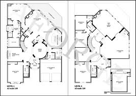 incredible design ideas floor plan cad file 5 house plans free