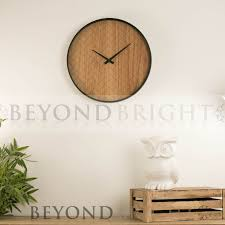 bruce 40 5cm wooden wall clock