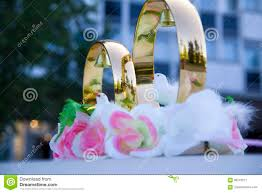 wedding props wedding rings flowers wedding decoration items