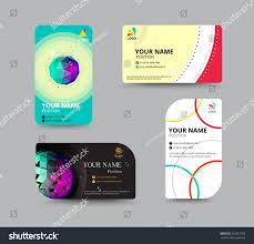 business card template name card design stock vector 291067505