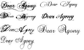 ideas of fonts styles pictures dunia fhasion