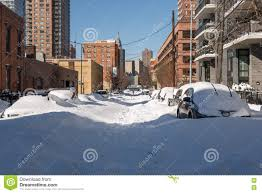 The Biggest Blizzard The Day After The Biggest Snow Storm In New York Editorial Image