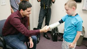 robotic arms for children without ones cnn