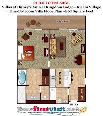 disney vacation club floor plans living kitchen dining space at kidani village at disney s animal