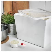 tillsluta dry food jar with lid ikea