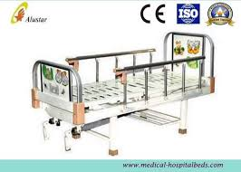 metal punching bed surface double crank children hospital baby