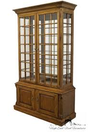 Used Display Cabinets High End Used Furniture Thomasville The American Oak Collection