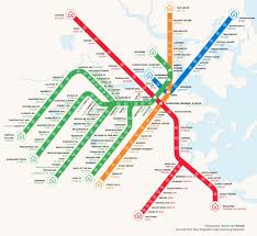 Boston Mbta Map Rent For One Bedroom In Boston Mapped By Mbta Stop
