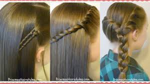 easy hairstyles for school trip 3 easy back to school hairstyles youtube