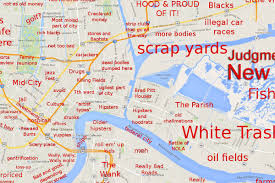 City Park New Orleans Map The Judgmental Map Of New Orleans Is Here Curbed New Orleans