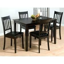 4 chair dining table set four chair dining table four dining room chairs cool decor