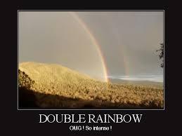 Double Rainbow Meme - audible shadow double rainbow all the way