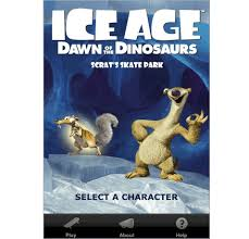 ice age dawn dinosaurs scrat u0027s skate park iphone download