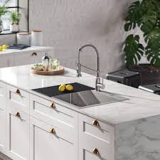 metal kitchen sink and cabinet combo 7 best drop in sinks for your diy renovation