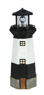 solar lighthouse light kit amazon com moonrays 95961 solar rotating led lighthouse light home