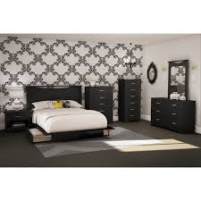 step one contemporary storage bed queen black beds u0026 bed