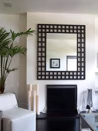 Modern Mirrors For Dining Room Best 25 Large Black Mirror Ideas On Pinterest Vintage Fireplace