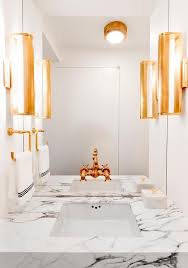 Bathroom Sconce Height Brass Bathroom Sconces Design Ideas