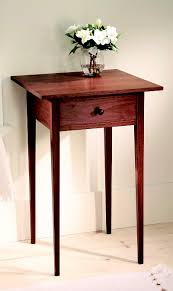 shaker end table plans shaker table popular woodworking magazine