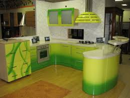 Kitchen Cabinets Green Kitchen Green Kitchen Cabinet With Nice Look On The Edge Of
