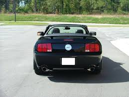 2005 Black Mustang Gt What U0027s It Look Like On A Black Stang The Mustang Source