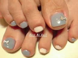 toe nail designs with rhinestones graham