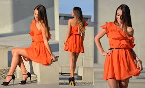 what color shoes to wear with an orange dress my fashion wants