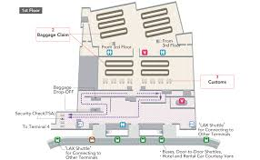 American Airlines Floor Plan Los Angeles International Airport Transfers Oneworld Airport