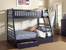 Bunk Beds Caravana Furniture - Navy blue bunk beds