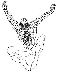 spiderman drawings kids coloring