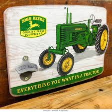 John Deere Home Decor by John Deere Tractors Wood Bottle Opener Sign Country Kitchen