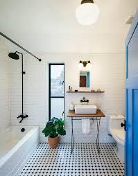 modern farmhouse austin texas simple bath subway tiles on the