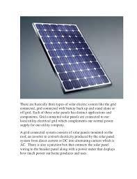 solar panel blueprint