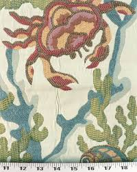 Heavy Drapery Fabric Crab Walk Aqua Best Fabric Store Online Drapery And Upholstery